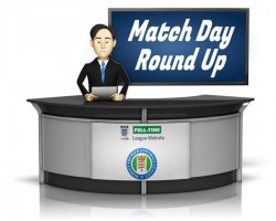 Match Day Round Up